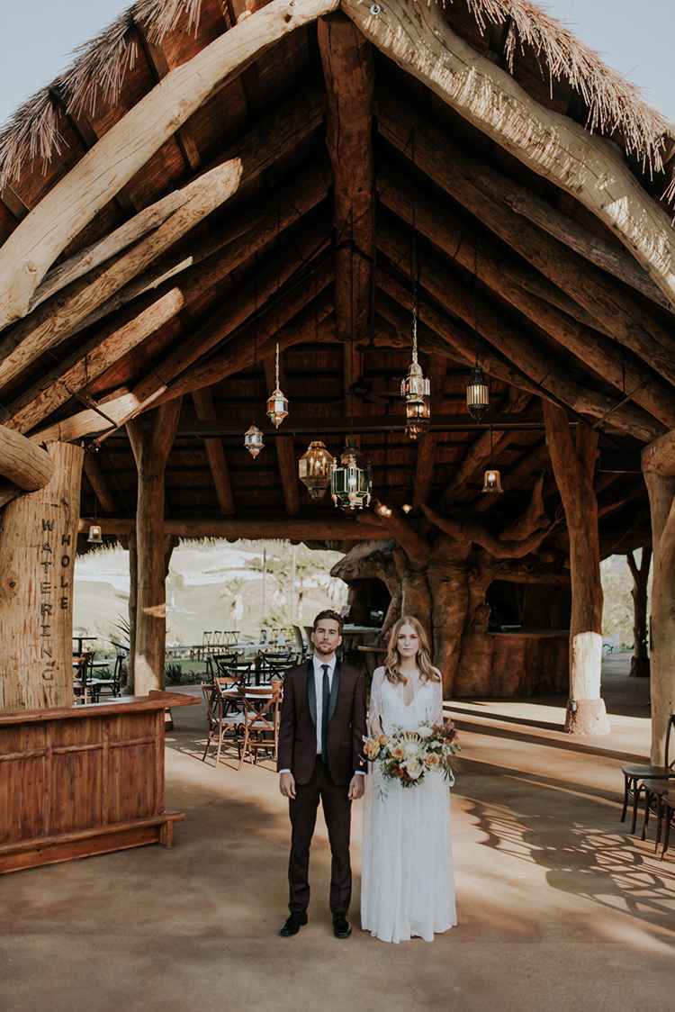 San Diego Safari Park Glamping Wedding Editorial - photo by Shelly Anderson Photography https://ruffledblog.com/san-diego-safari-park-glamping-wedding-editorial