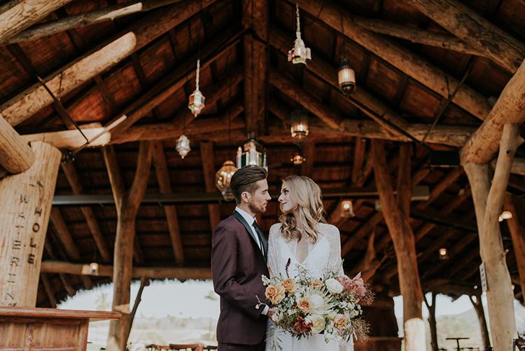 wedding portraits - photo by Shelly Anderson Photography https://ruffledblog.com/san-diego-safari-park-glamping-wedding-editorial