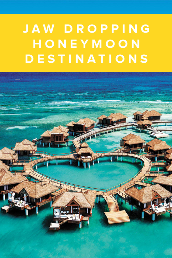7 Honeymoon Destinations that will Mistake you for the Maldives