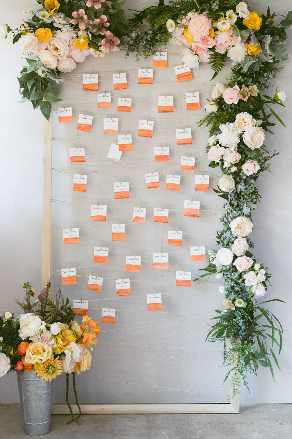Seating Chart Frame Diy 008