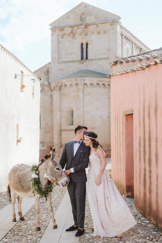 Sensory Destination Wedding in an Ancient Sardinian Village