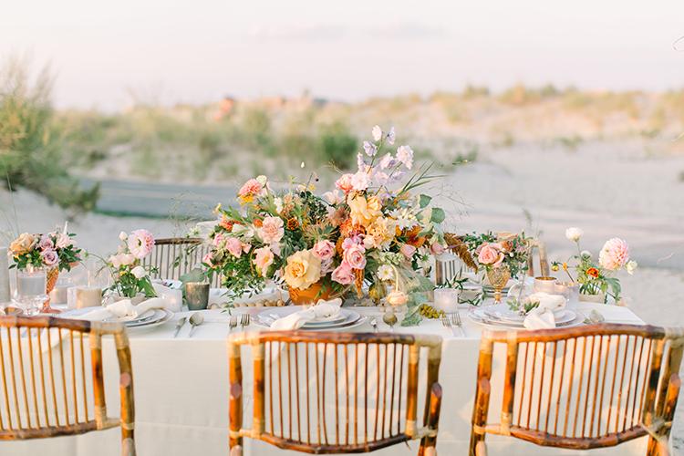 sunset weddings - http://ruffledblog.com/september-sunsets-wedding-inspiration-with-a-vw-bus