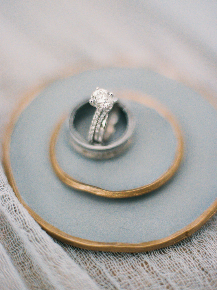 elegant wedding rings - photo by Asia Pimentel Photography http://ruffledblog.com/seriously-chic-destination-wedding-in-punta-cana