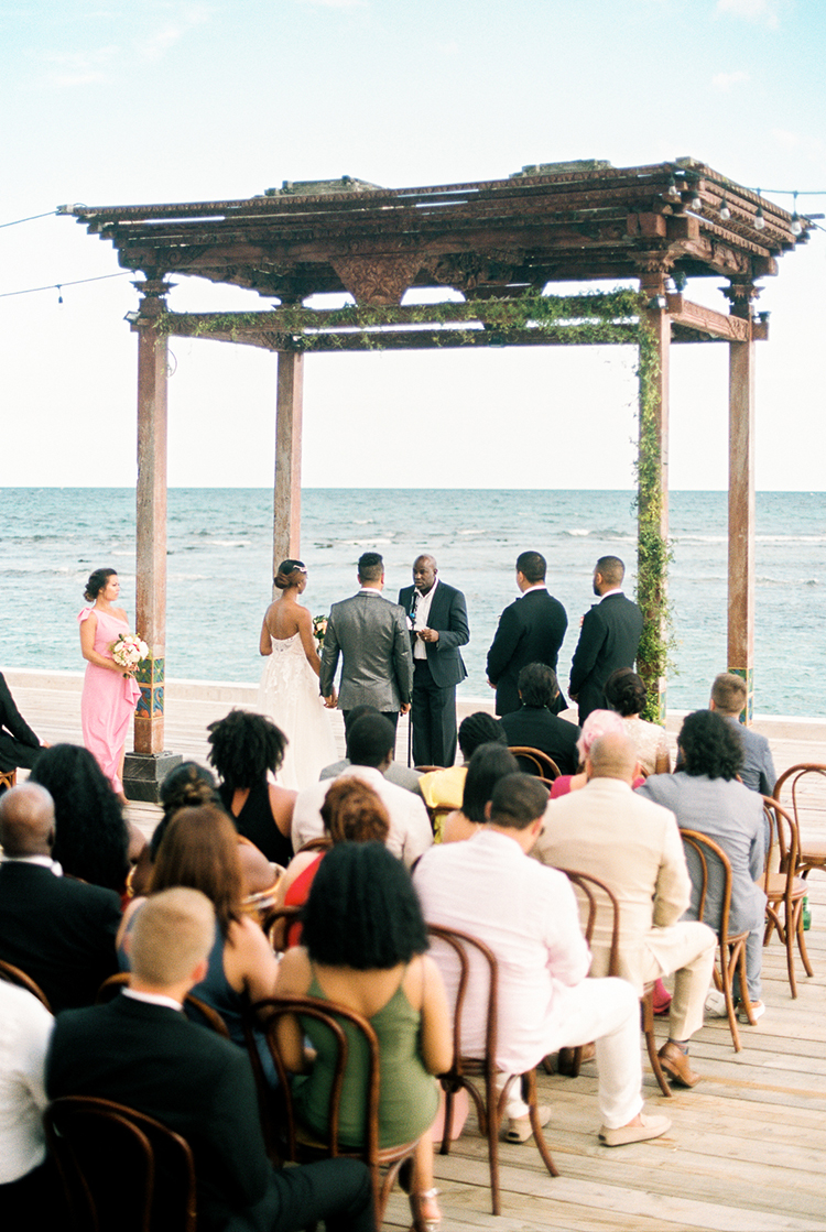 wedding ceremonies - photo by Asia Pimentel Photography http://ruffledblog.com/seriously-chic-destination-wedding-in-punta-cana