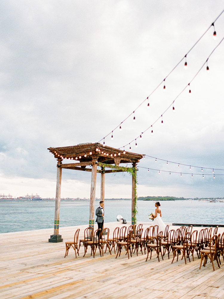 Punta Cana wedding ceremonies - photo by Asia Pimentel Photography https://ruffledblog.com/seriously-chic-destination-wedding-in-punta-cana