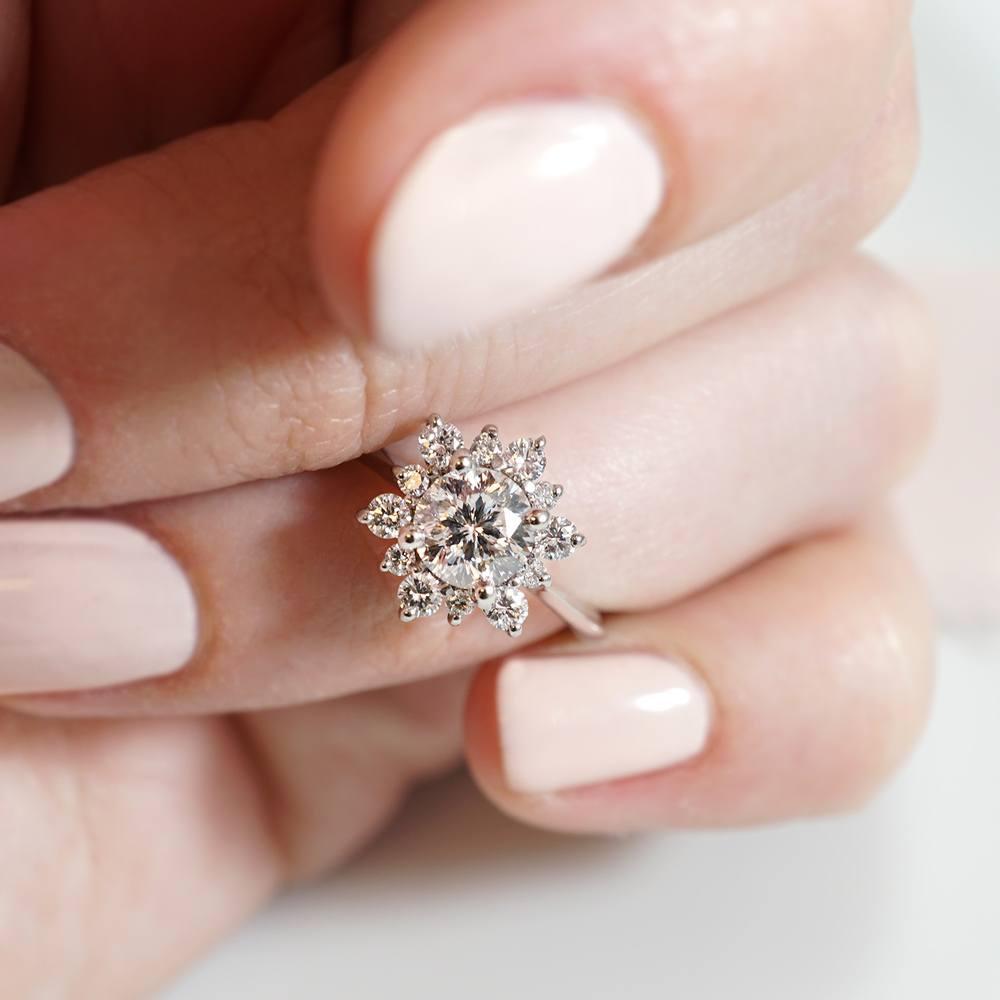 Snowflake Inspired Engagement Rings Joseph Jewelry 03