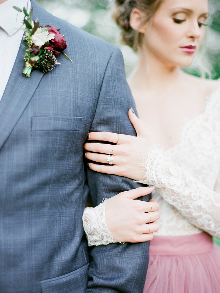 Summer Wedding Inspiration with Mauve and Berry - photo by Julie Paisley http://ruffledblog.com/southern-summer-wedding-inspiration-with-berry-hues