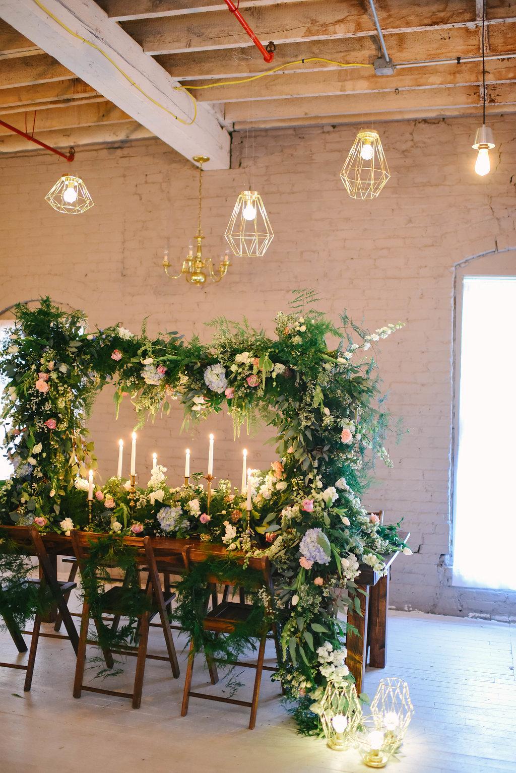 Spring indoor garden wedding inspiration ruffled for Indoor gardening pdf