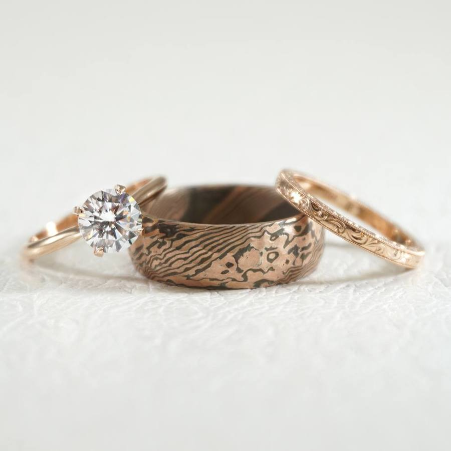What S Your Man S Wedding Band Personality Ruffled