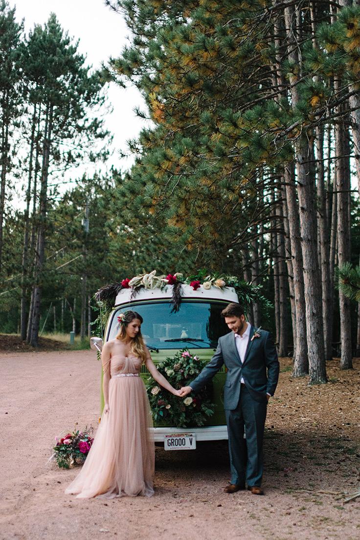 So sweet! Summer camp wedding ideas #wedding #summerwedding #summercamp See more: https://ruffledblog.com/summer-camp-wedding