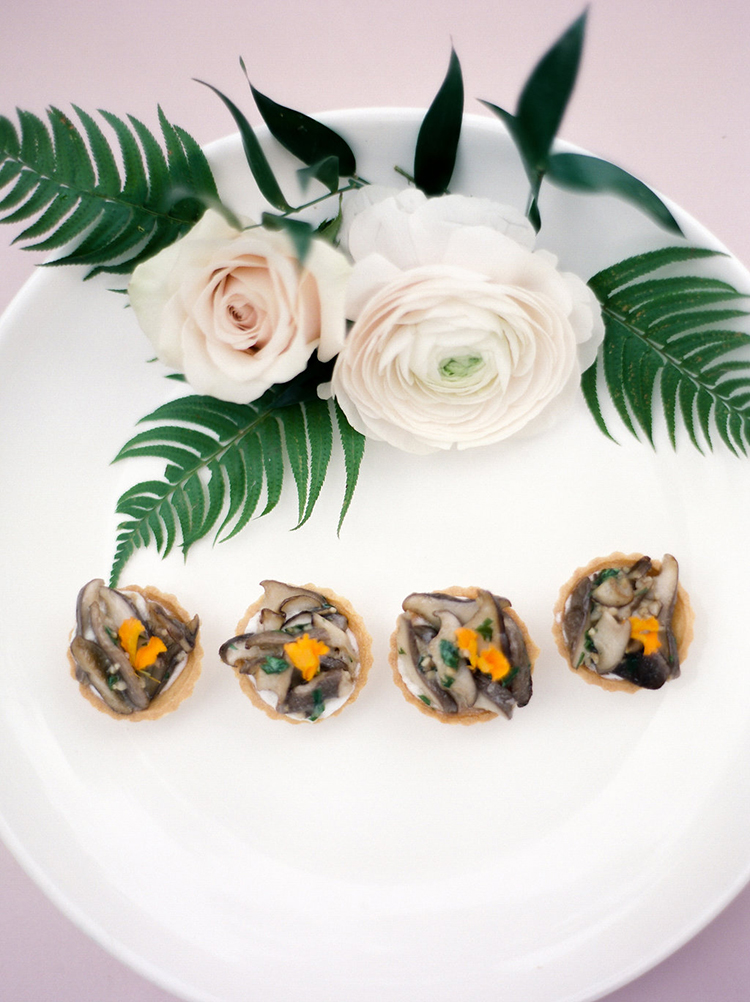 wedding catering - photo by Christy Wilson Photography https://ruffledblog.com/summer-castle-soiree-wedding-inspiration