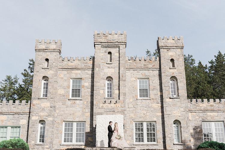 castle wedding inspiration - photo by Christy Wilson Photography https://ruffledblog.com/summer-castle-soiree-wedding-inspiration