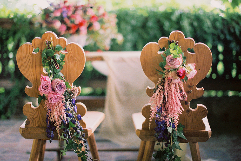 sweetheart table chairs - photo by Warm Photo http://ruffledblog.com/summer-love-wedding-in-austria
