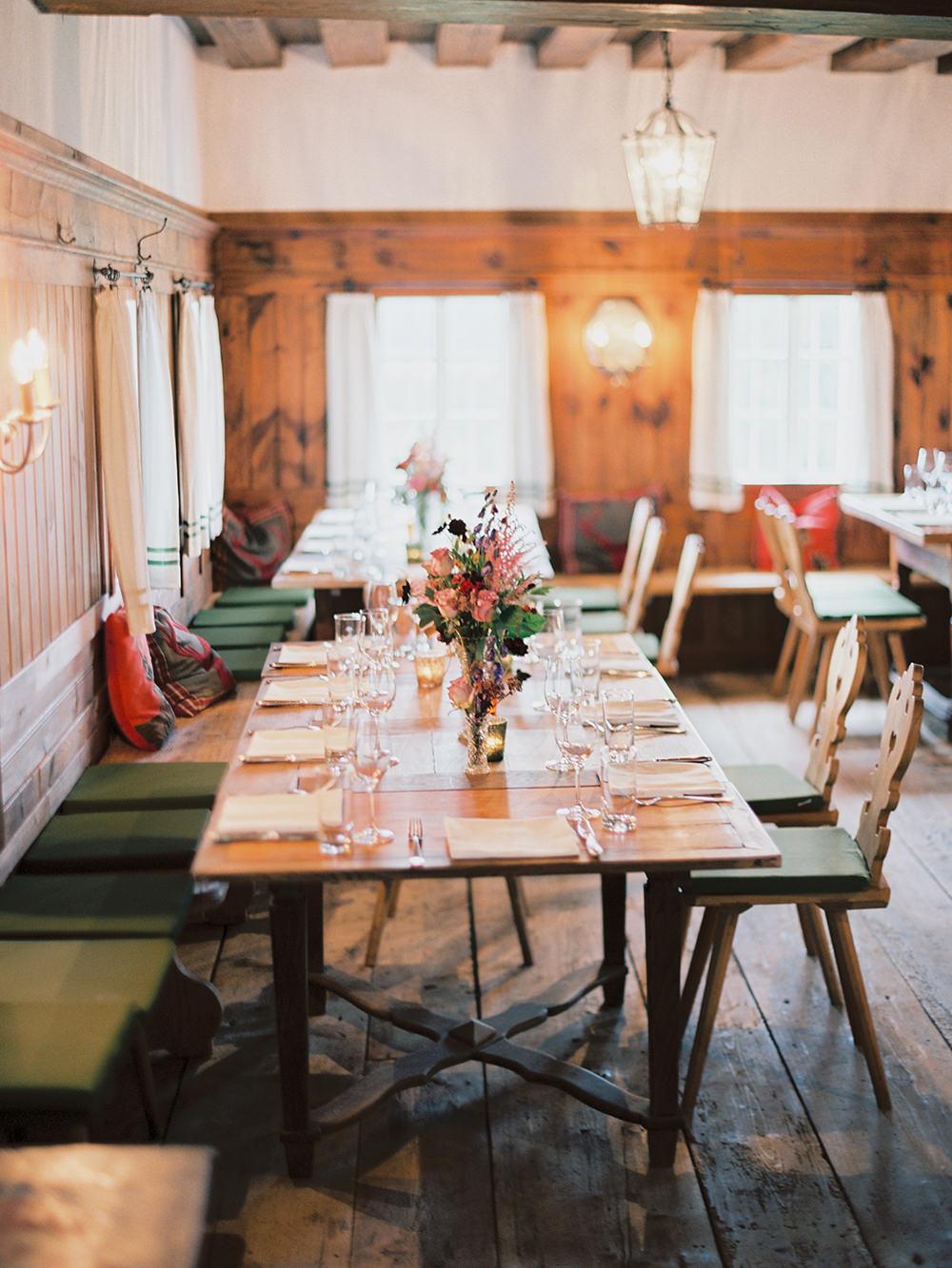 wedding receptions - photo by Warm Photo http://ruffledblog.com/summer-love-wedding-in-austria