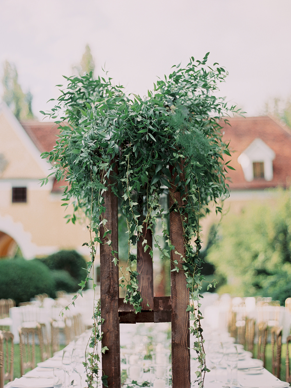 centerpiece ideas - photo by Warm Photo http://ruffledblog.com/summer-love-wedding-in-austria
