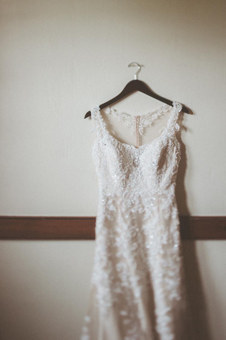 wedding dresses - photo by Paper Antler http://ruffledblog.com/summer-sunset-wedding-in-wisconsin