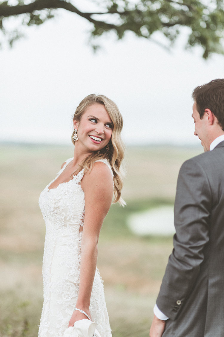first looks - photo by Paper Antler https://ruffledblog.com/summer-sunset-wedding-in-wisconsin