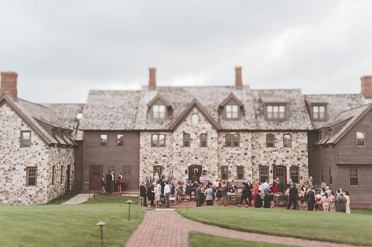 wedding receptions - photo by Paper Antler http://ruffledblog.com/summer-sunset-wedding-in-wisconsin