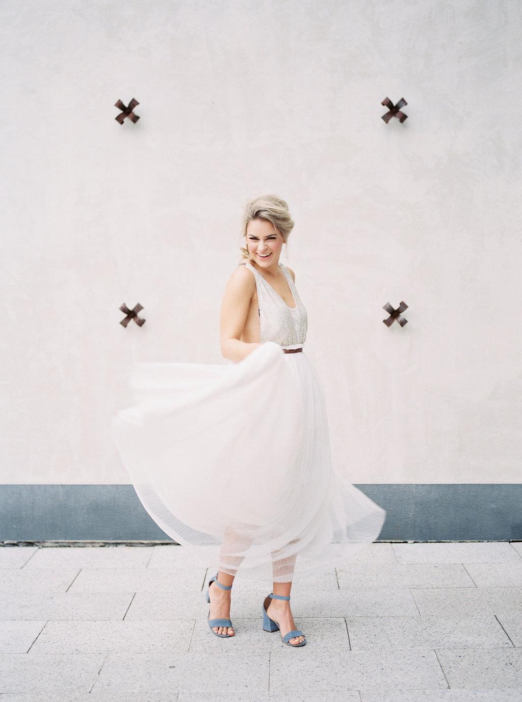 wedding inspiration shoots - photo by Awake Photography https://ruffledblog.com/sweet-peony-bridal-inspiration