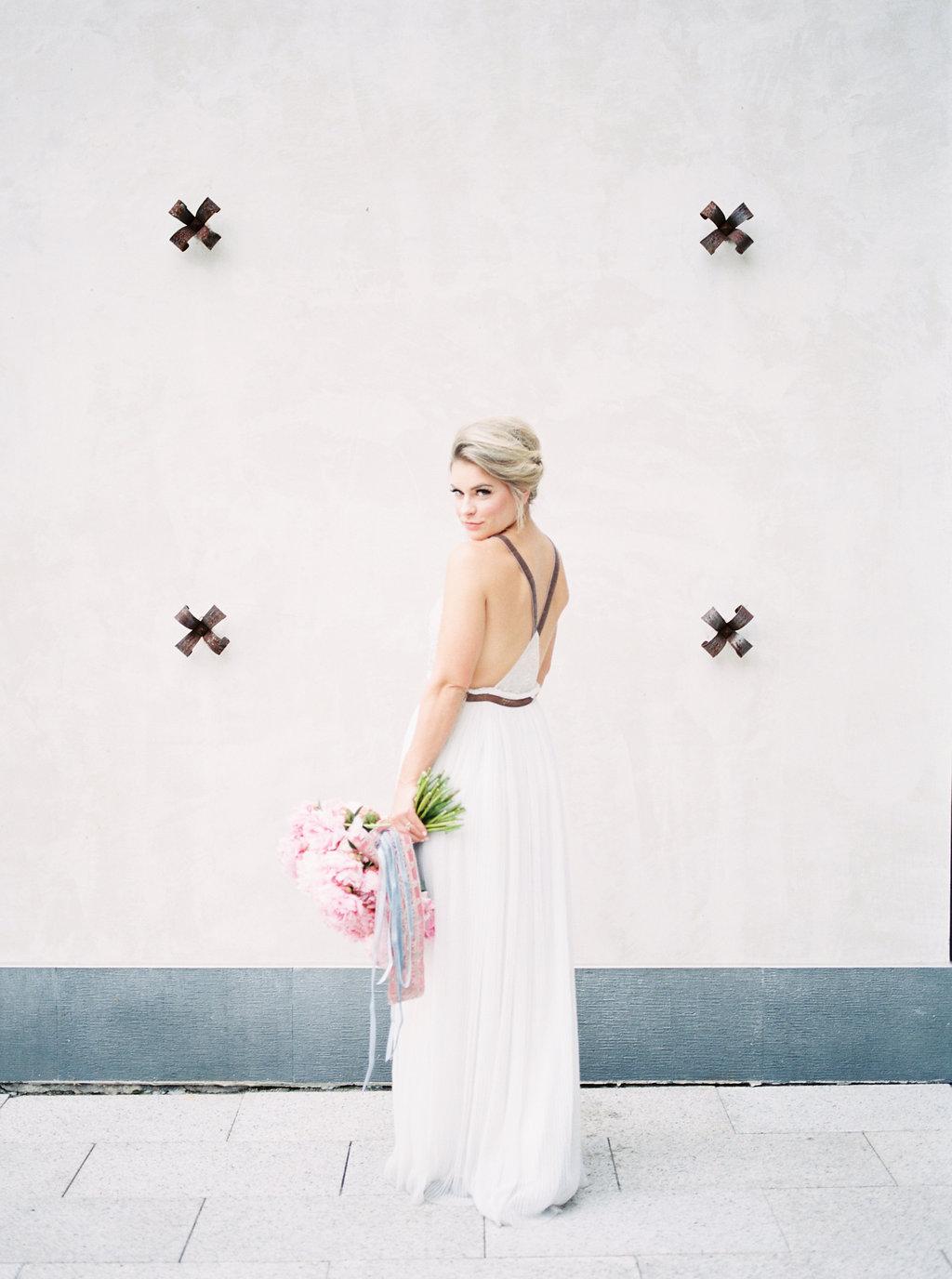bridal inspiration shoots - photo by Awake Photography http://ruffledblog.com/sweet-peony-bridal-inspiration