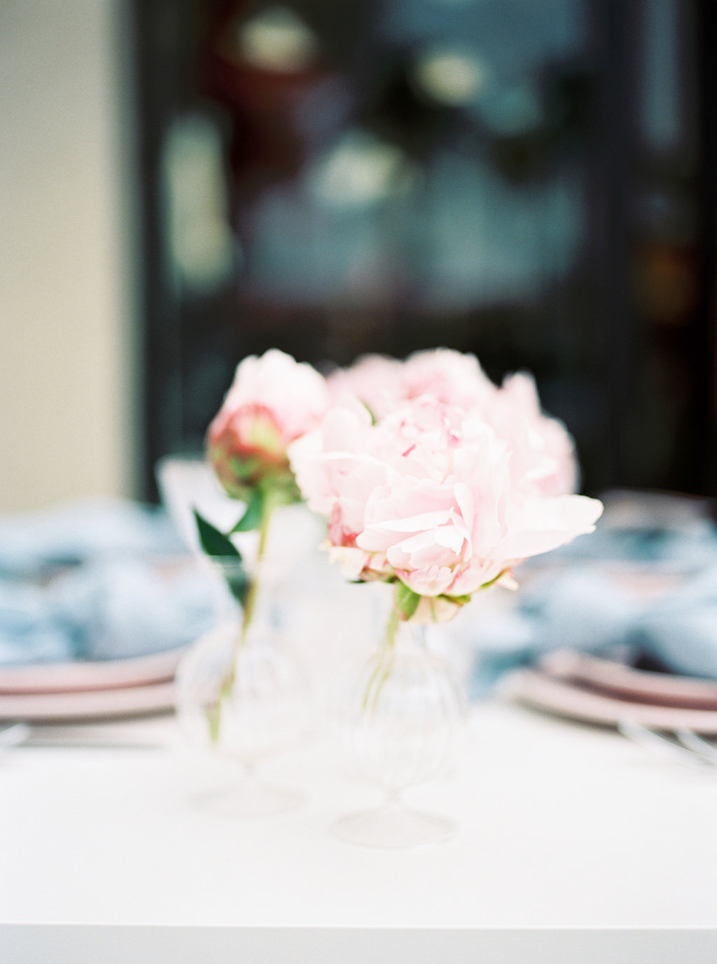 wedding flowers - photo by Awake Photography http://ruffledblog.com/sweet-peony-bridal-inspiration
