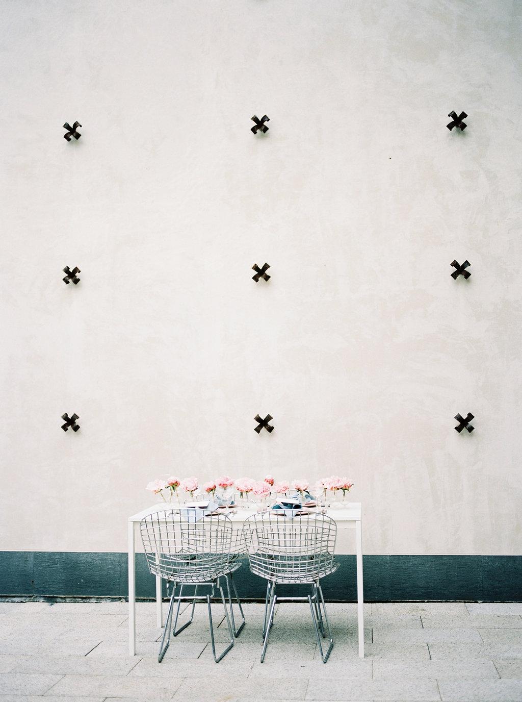 wedding tables - photo by Awake Photography https://ruffledblog.com/sweet-peony-bridal-inspiration