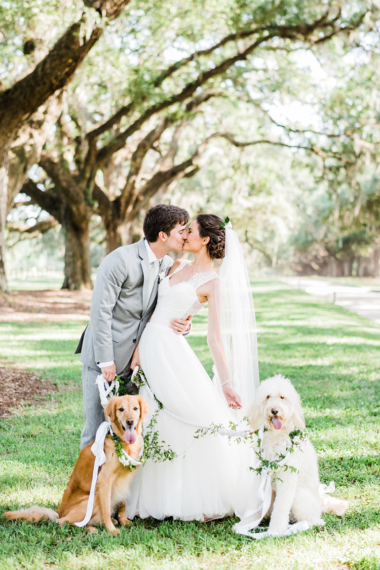 Swoon-Worthy Charleston Wedding with Spanish Moss - http://ruffledblog.com/swoon-worthy-charleston-wedding-with-spanish-moss