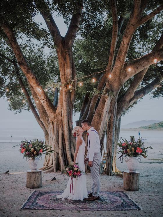 Tamarindo Destination Wedding on the Beach