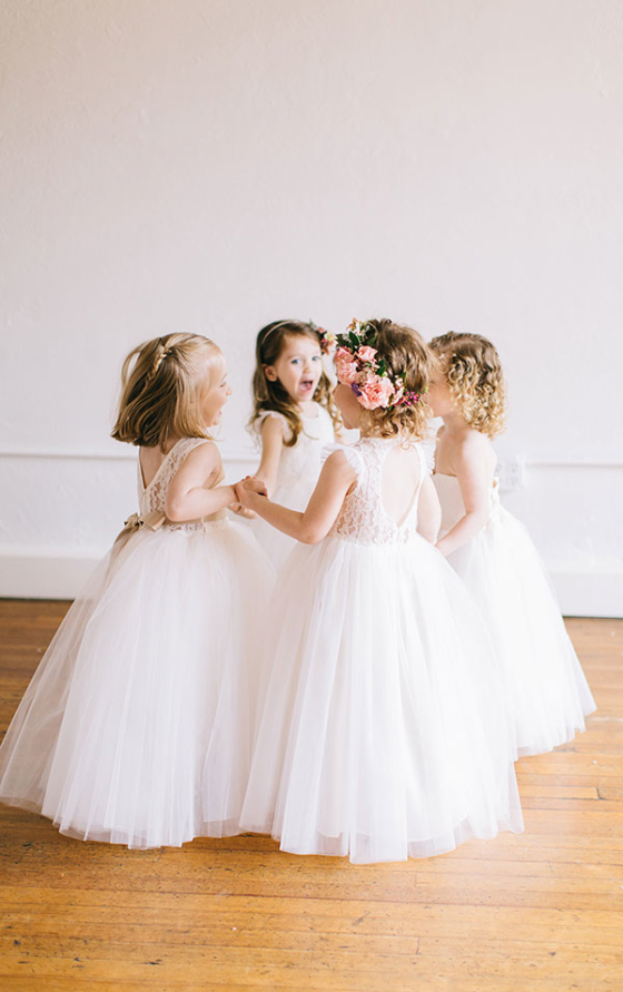 These Flower Girl Dresses Will Give You All The Warm Fuzzies