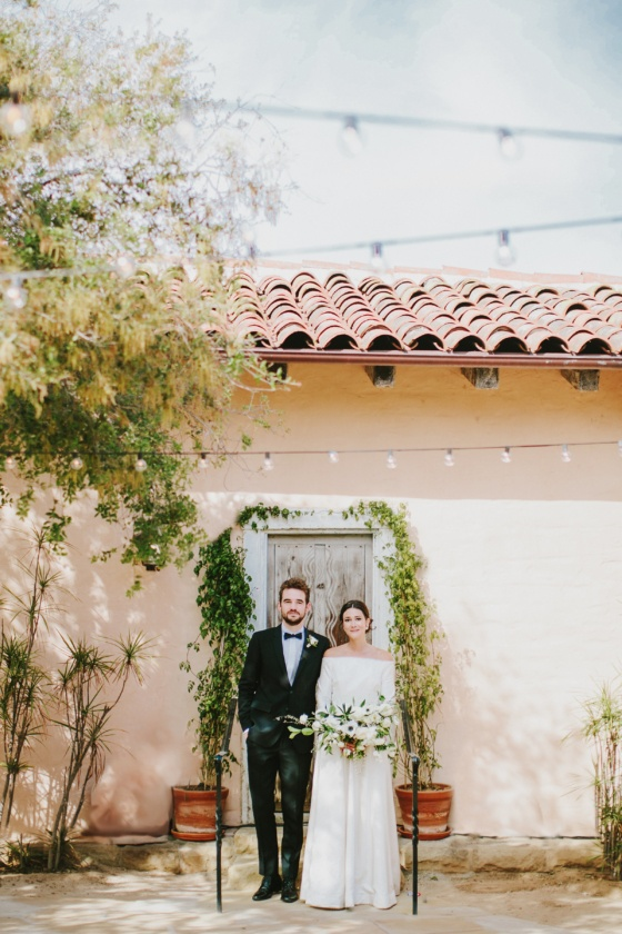 Santa Barbara Al Fresco Wedding with Minimalist Details