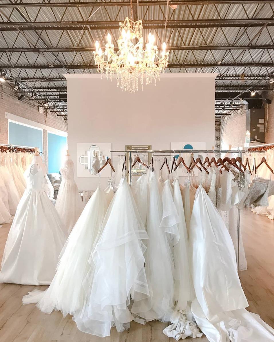 Hayley Paige wedding dress trunk show