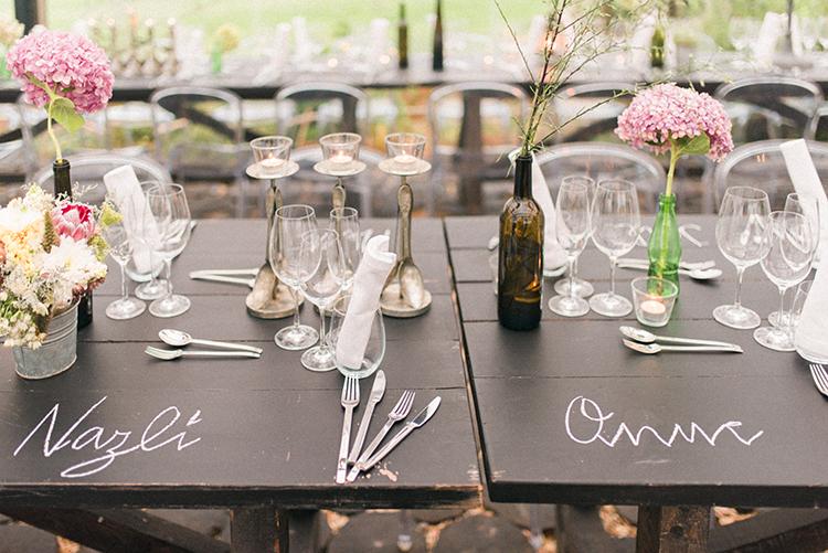 wedding tables - photo by Adriana Morais https://ruffledblog.com/two-day-destination-wedding-celebration-in-portugal