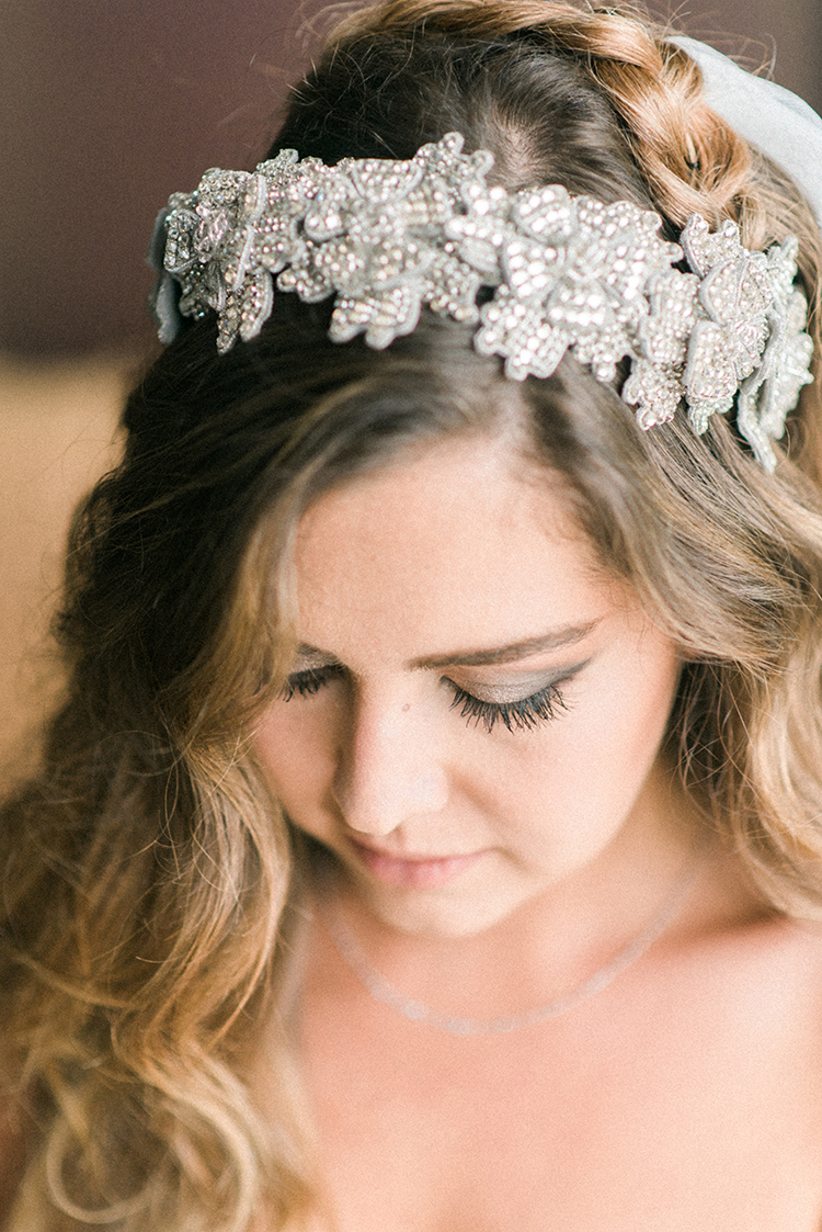 bridal headpieces - photo by Adriana Morais https://ruffledblog.com/two-day-destination-wedding-celebration-in-portugal