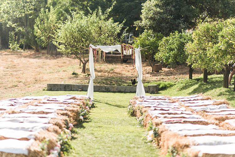 wedding ceremonies - photo by Adriana Morais https://ruffledblog.com/two-day-destination-wedding-celebration-in-portugal