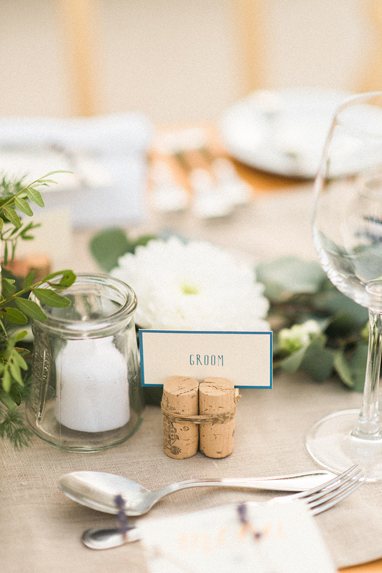 name cards - photo by Adriana Morais https://ruffledblog.com/two-day-destination-wedding-celebration-in-portugal