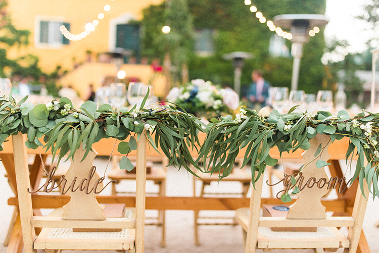 sweetheart table chairs - photo by Adriana Morais http://ruffledblog.com/two-day-destination-wedding-celebration-in-portugal