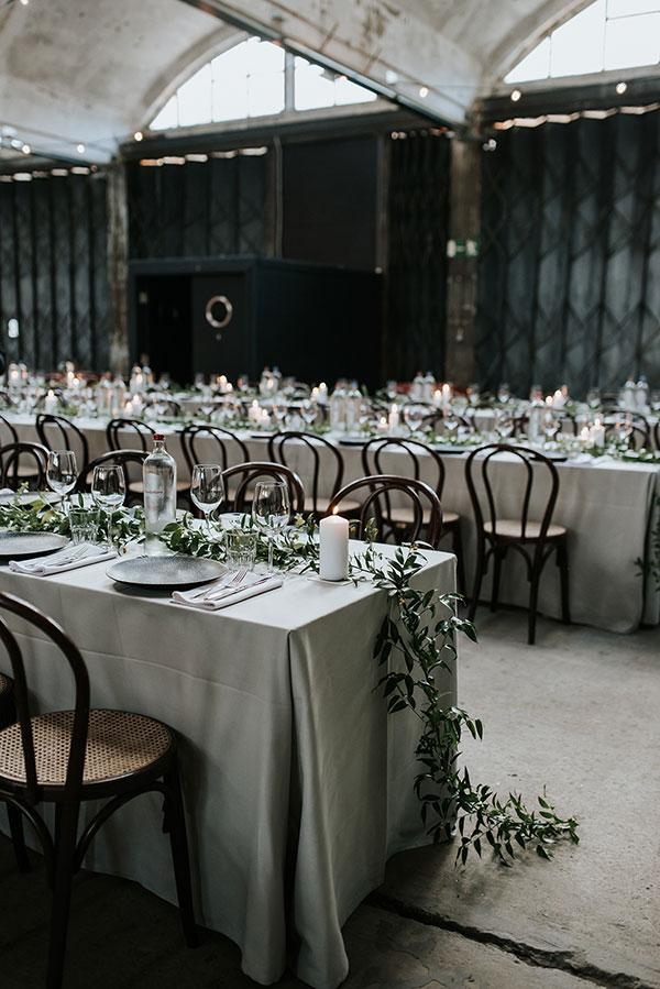 Urban Destination Wedding in a Belgian Warehouse #industrialwedding #love #weddingideas see more: https://ruffledblog.com/belgian-high-school-sweethearts