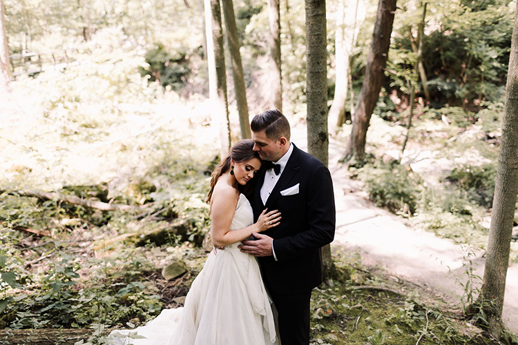 woodland weddings - https://ruffledblog.com/urban-chic-art-gallery-wedding-in-ontario
