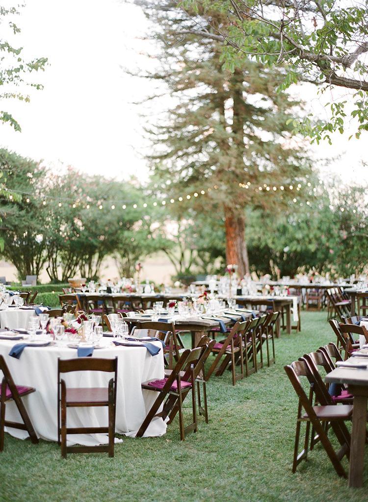 backyard garden weddings - photo by Lacie Hansen http://ruffledblog.com/utterly-beautiful-california-wedding-planned-by-the-bride