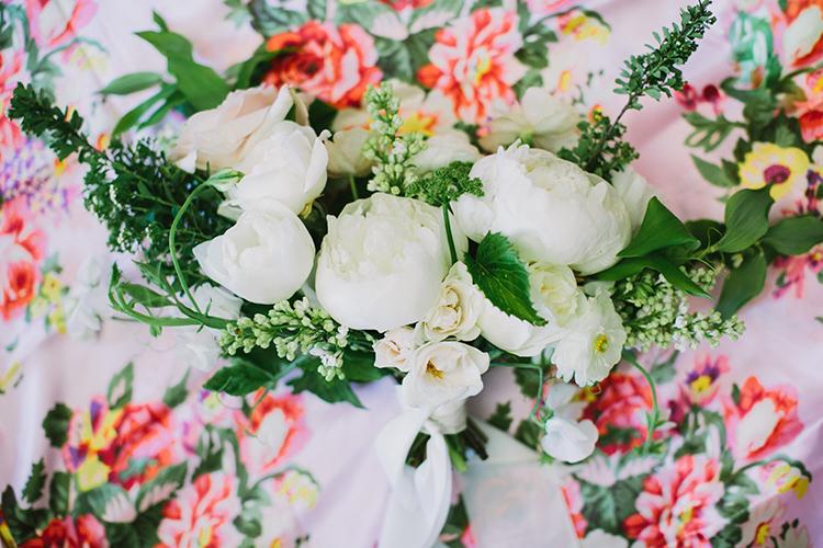 ivory wedding flowers - photo by Fondly Forever Photography https://ruffledblog.com/utterly-dreamy-destination-wedding-in-santa-ynez-valley