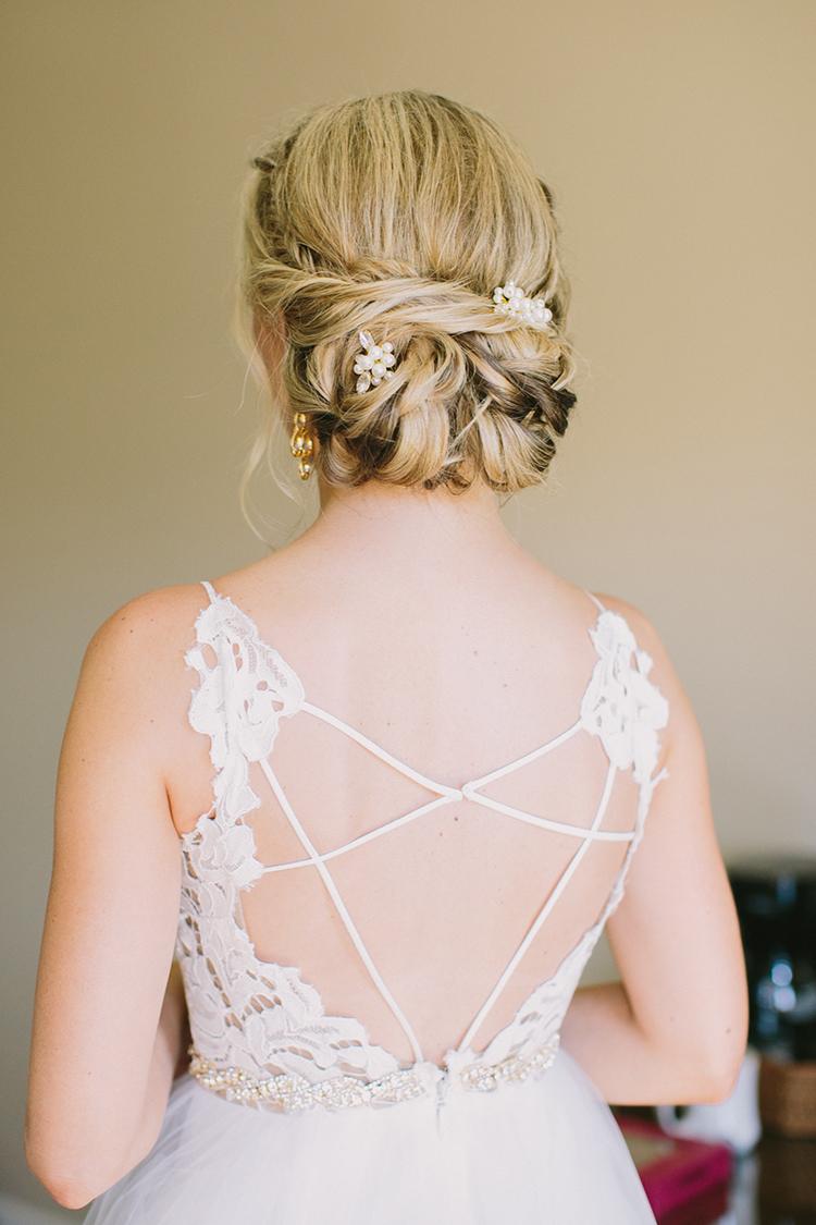 Hayley Paige wedding gowns - photo by Fondly Forever Photography https://ruffledblog.com/utterly-dreamy-destination-wedding-in-santa-ynez-valley