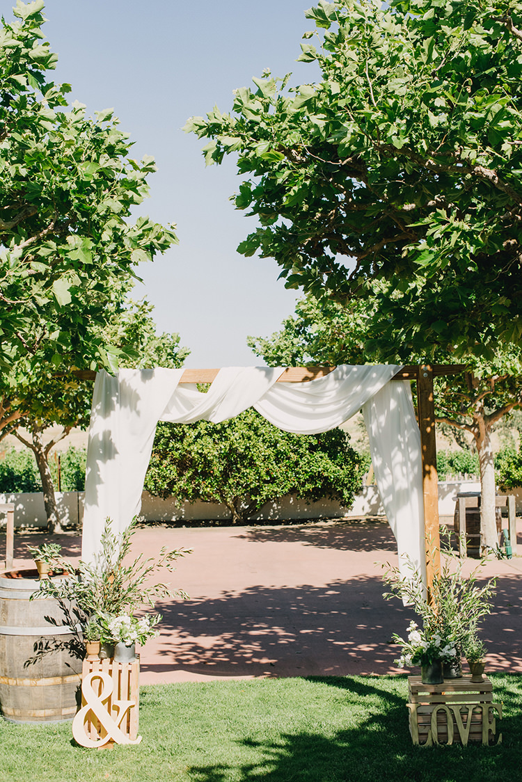 romantic wedding ceremonies - photo by Fondly Forever Photography http://ruffledblog.com/utterly-dreamy-destination-wedding-in-santa-ynez-valley