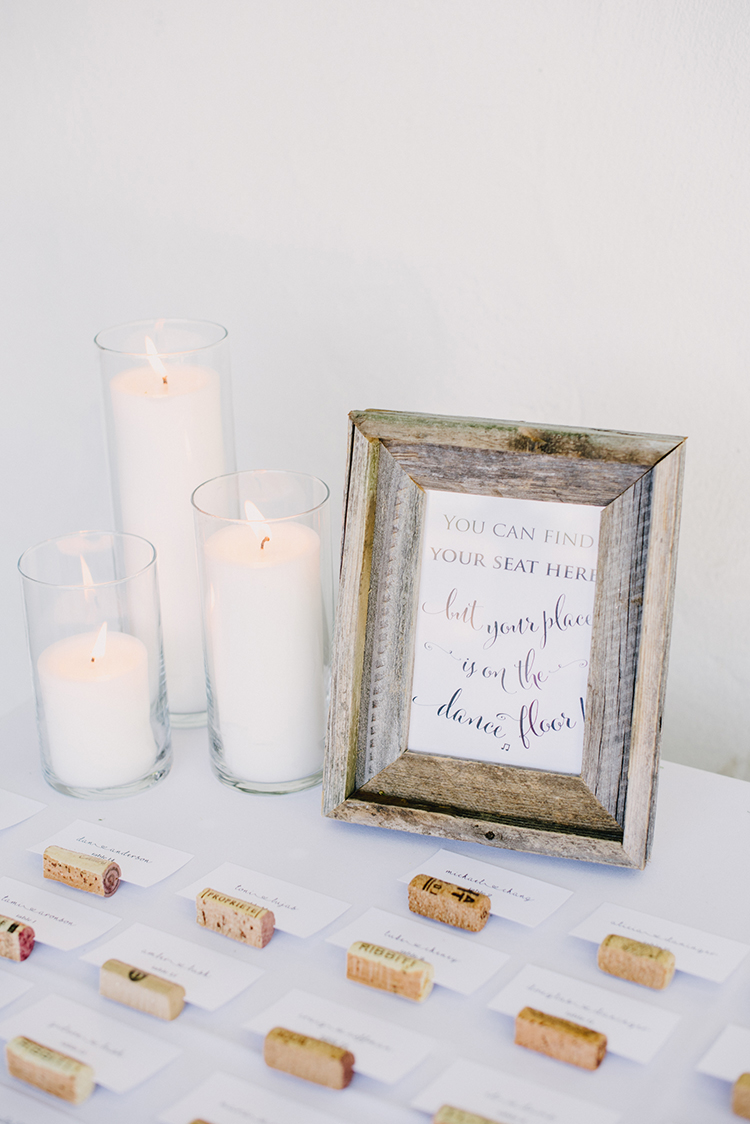 seating charts - photo by Fondly Forever Photography http://ruffledblog.com/utterly-dreamy-destination-wedding-in-santa-ynez-valley