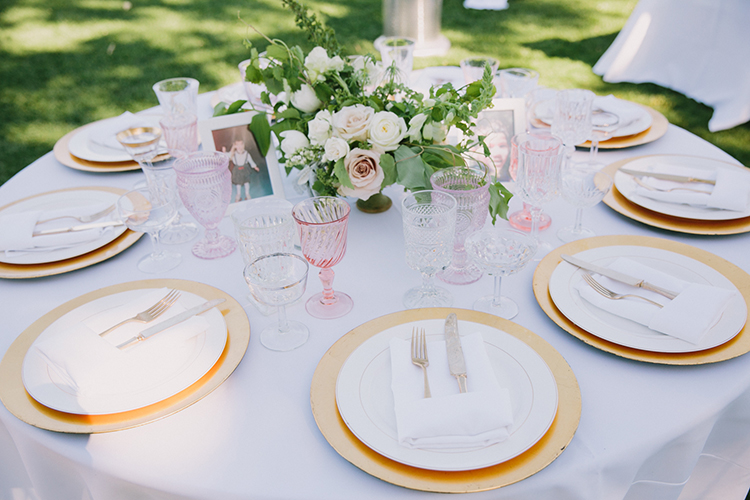 white tablescapes - photo by Fondly Forever Photography http://ruffledblog.com/utterly-dreamy-destination-wedding-in-santa-ynez-valley