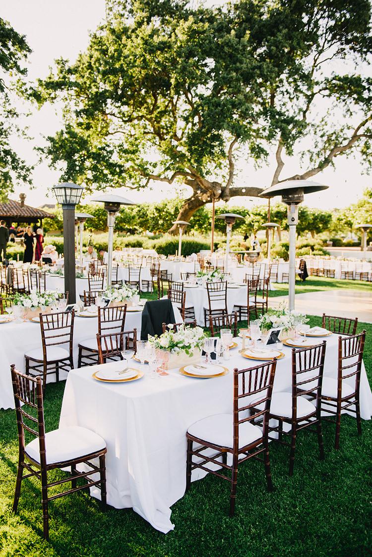 romantic vineyard wedding receptions - photo by Fondly Forever Photography https://ruffledblog.com/utterly-dreamy-destination-wedding-in-santa-ynez-valley