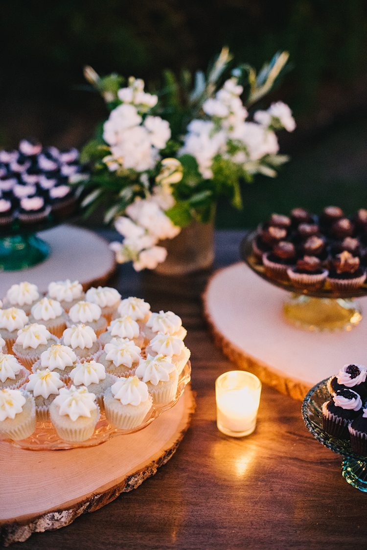 dessert tables - photo by Fondly Forever Photography http://ruffledblog.com/utterly-dreamy-destination-wedding-in-santa-ynez-valley