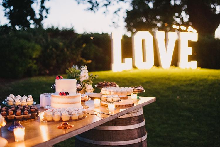 wedding dessert tables - photo by Fondly Forever Photography https://ruffledblog.com/utterly-dreamy-destination-wedding-in-santa-ynez-valley