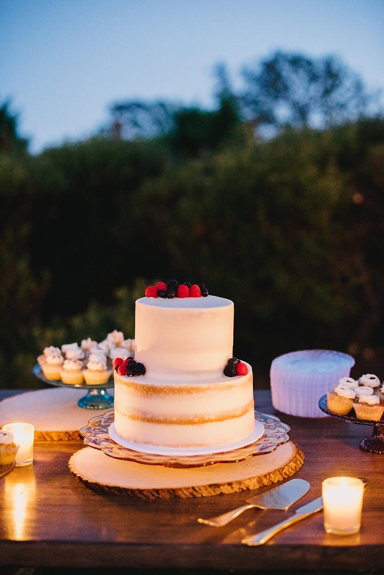 wedding cakes - photo by Fondly Forever Photography https://ruffledblog.com/utterly-dreamy-destination-wedding-in-santa-ynez-valley