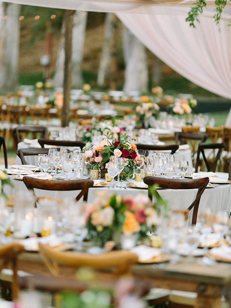 rustic romantic weddings - photo by Erica Schneider Photography http://ruffledblog.com/vegetable-garden-inspired-wedding-with-seriously-lush-details