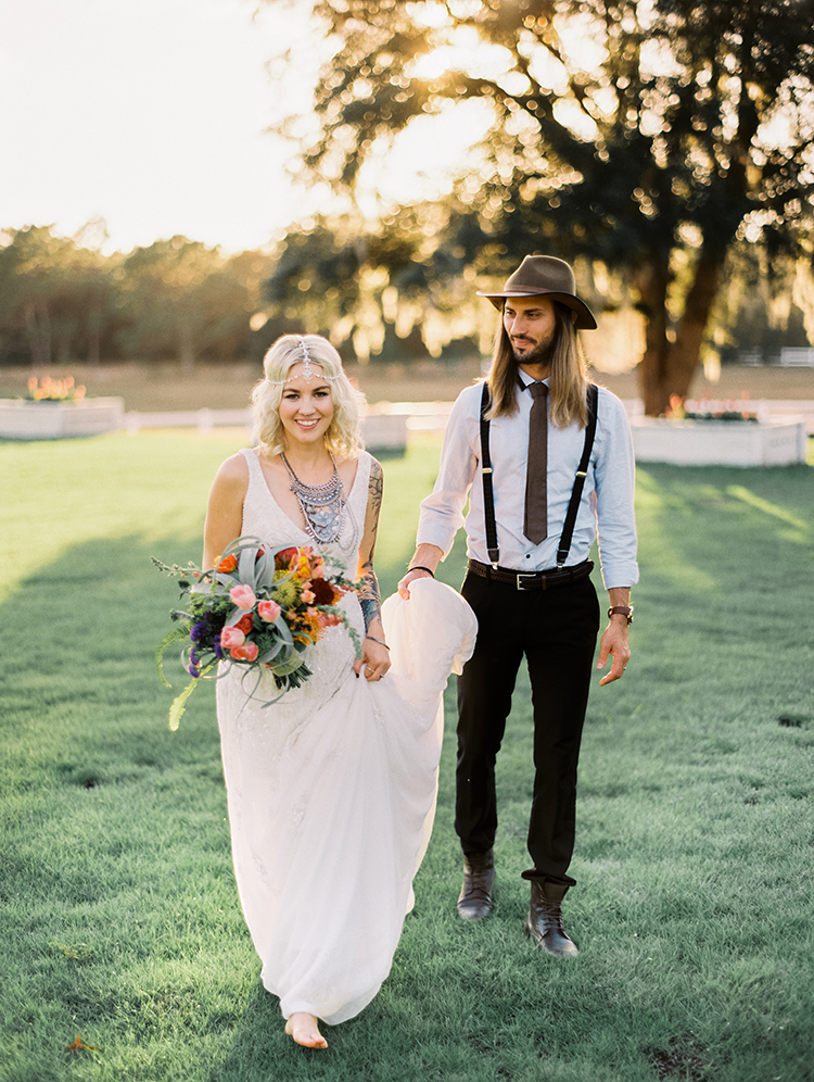 Vibrant Southern Bohemian Wedding Inspiration - photo by Best Photography https://ruffledblog.com/vibrant-southern-bohemian-wedding-inspiration